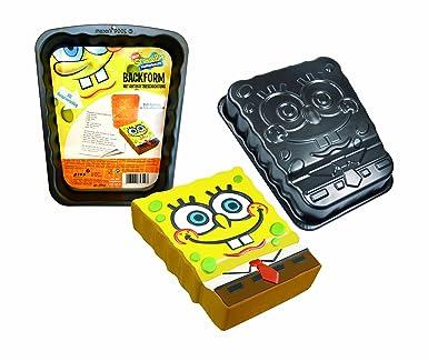originales moldes para tartas bob esponja