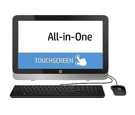 'HP 22-2102NS-Ordinateur tout-en-un 21.5(Intel Celeron G1840, 4Go de RAM, Disque dur HDD de 500Go, windows 8.1en gracieux a Windows 10), noir et argent