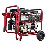 All Power America APGG4000, 4000W Watt Generator, Gas Powered Portable Generator for Home Use Power Backup, RV Standby, Hurricane Damage Restoration Power Backup, EPA Certified (Tamaño: 4000 watts)