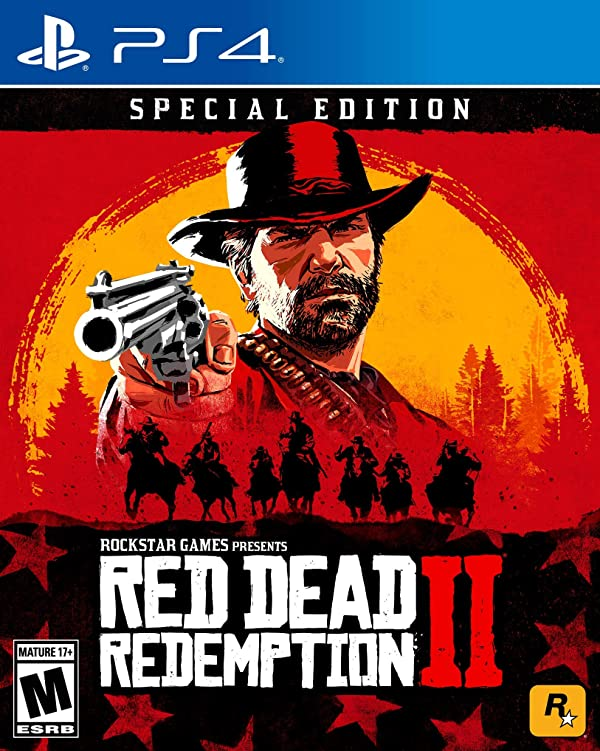 Red Dead Redemption 2: Special Edition - PlayStation 4 (Color: red)