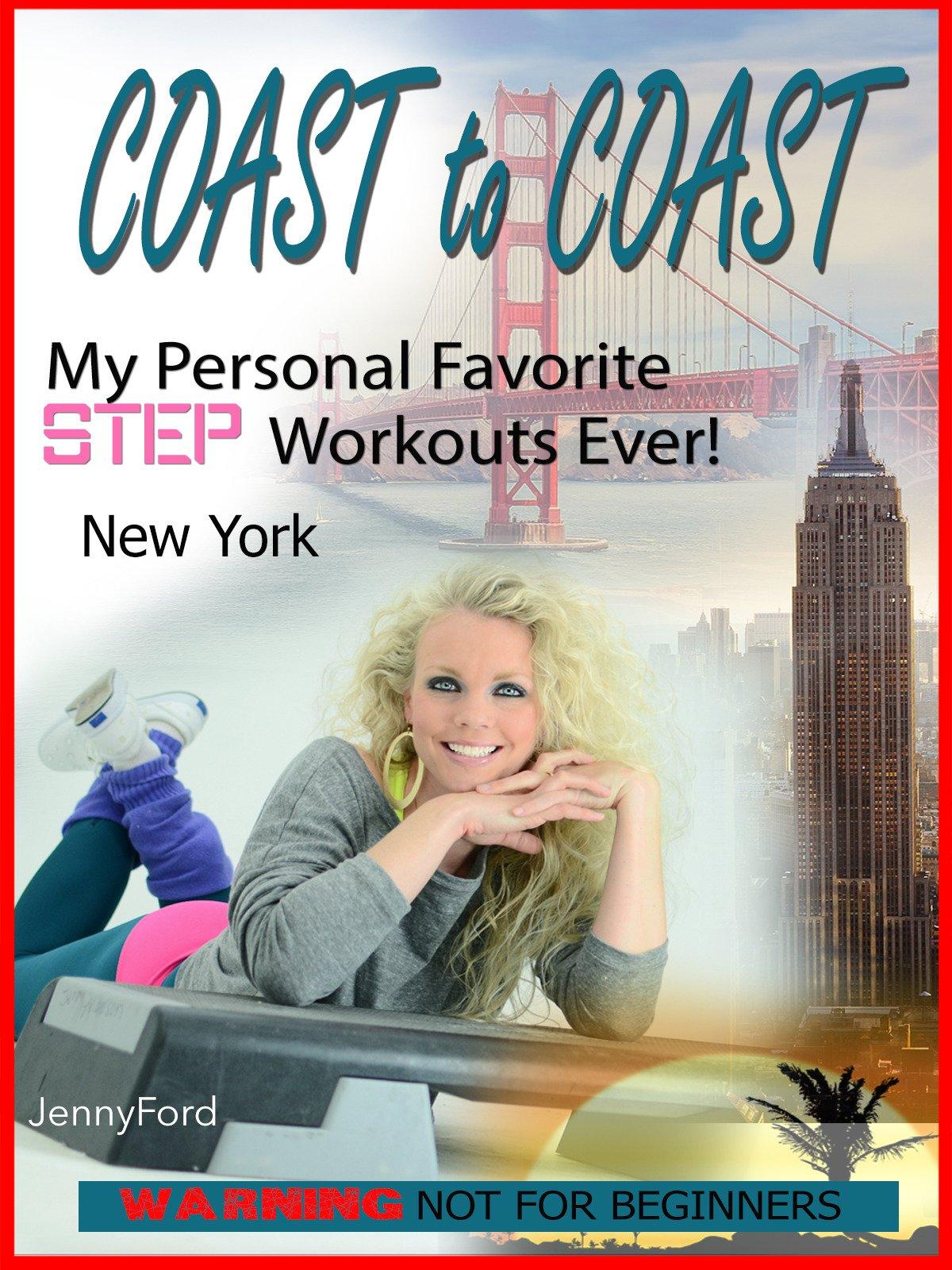 New York Coast to Coast Jenny Ford Step Aerobics