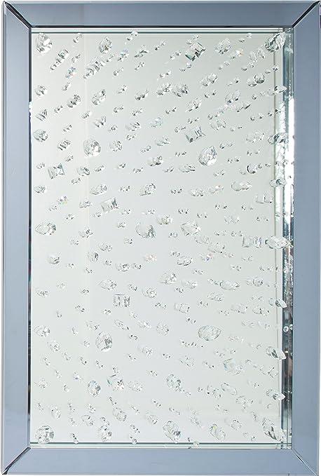KARE Design Raindrops Mirror, Glass, Silver