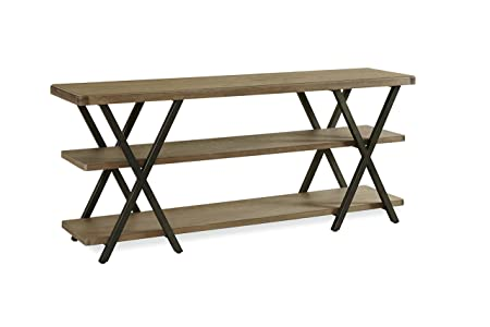 Universal Furniture Berkeley 3 Entertainment Console in Brownstone