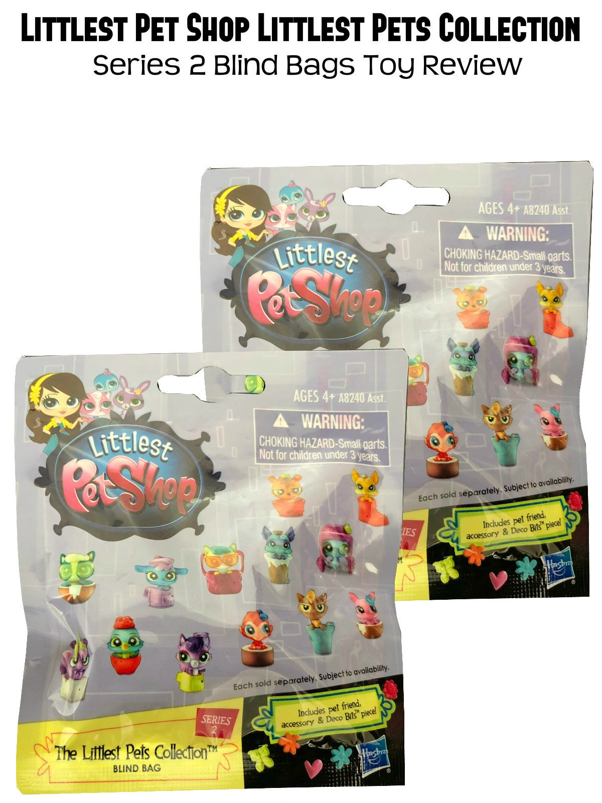 Review: Littlest Pet Shop Littlest Pets Collection Series 2 Blind Bags Toy Review on Amazon Prime Video UK
