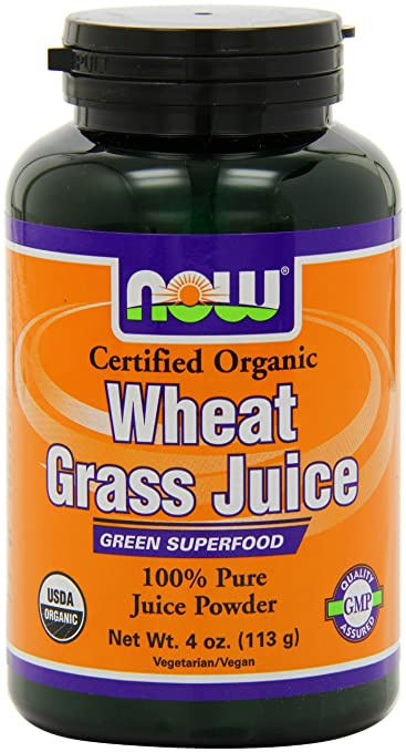 Now Foods Wheat Grass Juice Powder