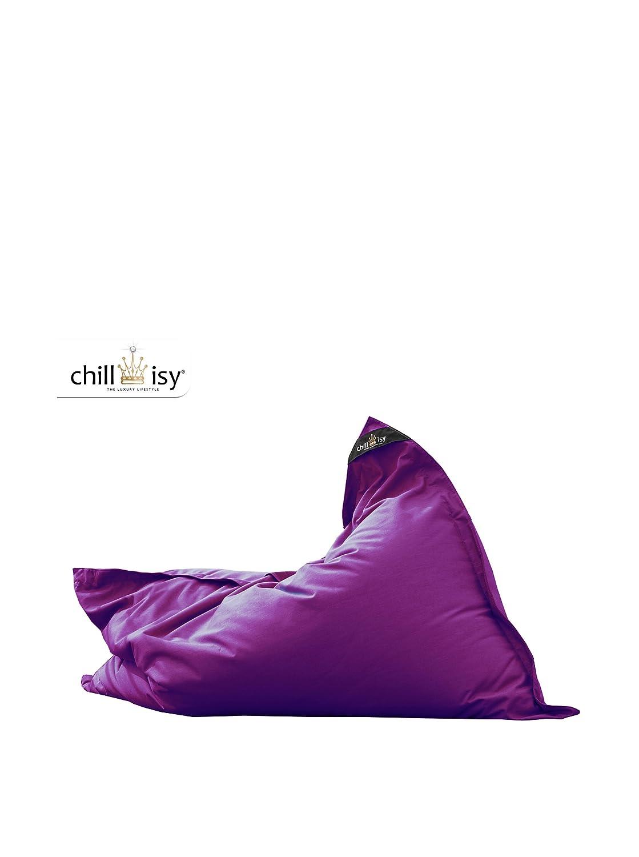 chillisy® Sitzsack Junior lila, 130×100 cm, Indoor & Outdoor, Made in Germany