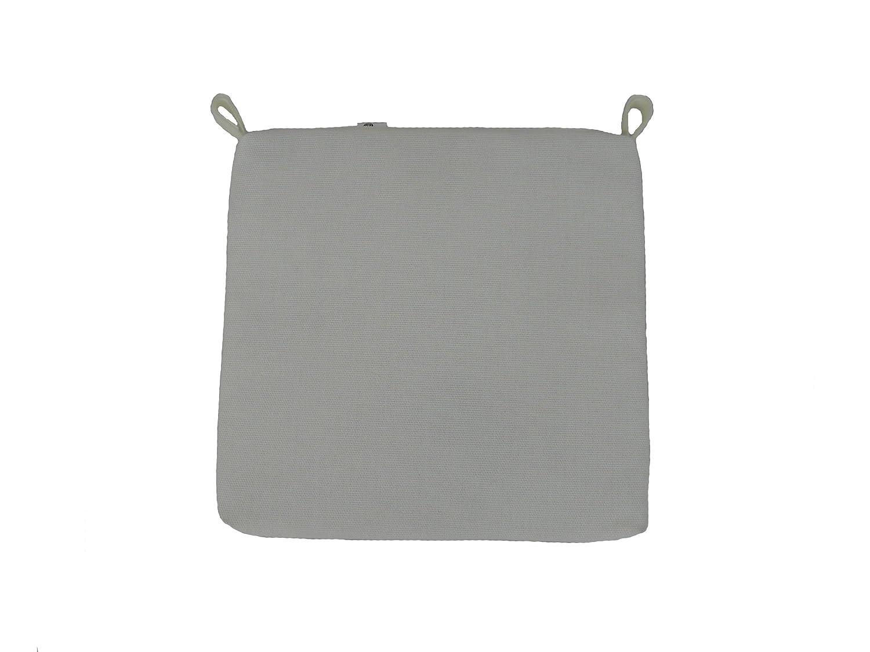 Maffei Art 860 Kissen aus hoher textile Technologie, ATMUNGSAKTIV, ABZIEHBAR, fuer Sitze, cm.40X40X3 . Made in Italy. Farbe Weiss. EXKLUSIV MAFFEI. Set x 4 Stk günstig bestellen