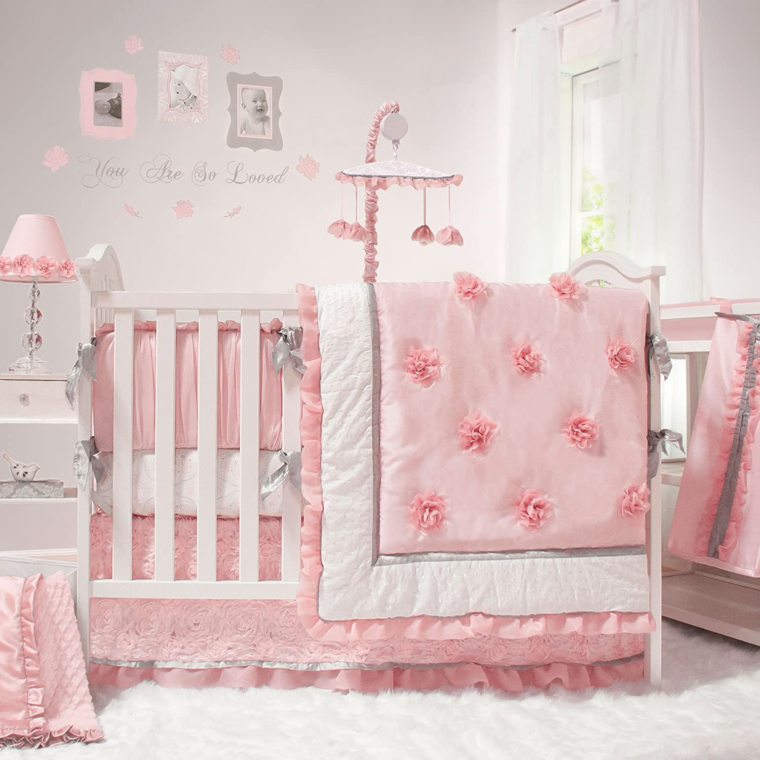 the peanut shell arianna crib bedding