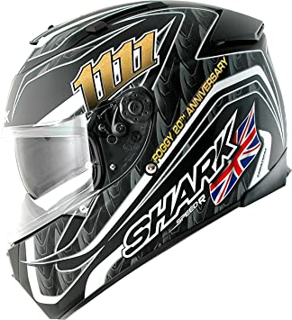 Shark - Casque moto - Shark Speed-R series 2 Foggy mat 20th birthday KBS