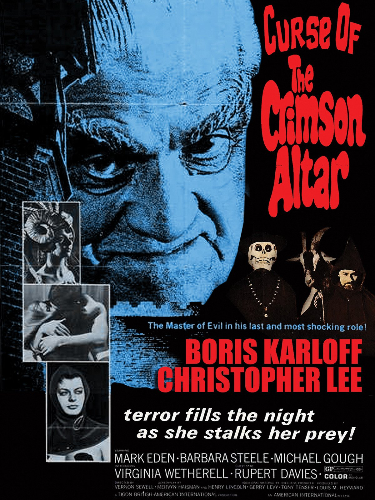 Curse Of The Crimson Altar on Amazon Prime Instant Video UK