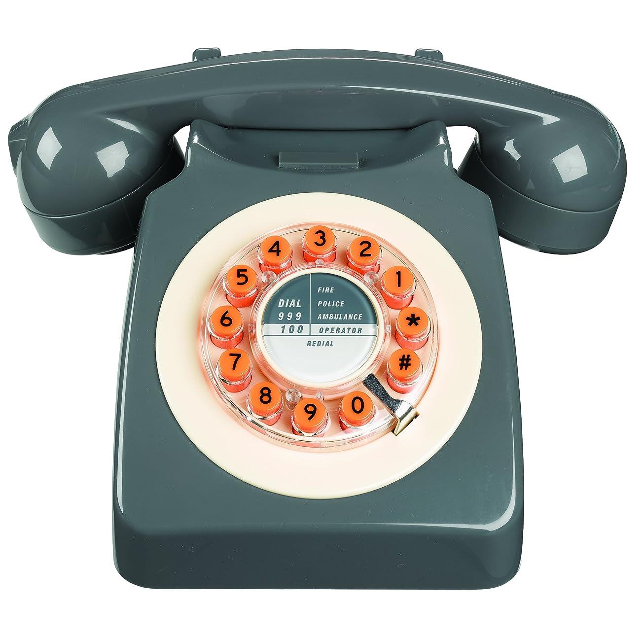 746 Phone Retro Design - Concrete Grey 0