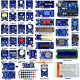 Adeept 42 Modules Ultimate Sensor Kit for Arduino UNO R3 Mega2560 Nano, Sensor Starter Kit for Arduino with Guidebook(PDF) Processing