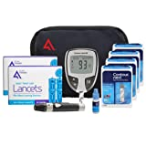 AF Contour Next Diabetes Testing Kit, 200 Count | Contour Next EZ Meter, 200 Contour Next Test Strips, 200 Lancets, Lancing Device, Control Solution, Manuals, Log Book & Carry Case (Tamaño: 200)