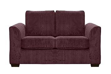 Funda elástica para sofá 2-Seat Oxford tela bacalao Jumbo tela morado