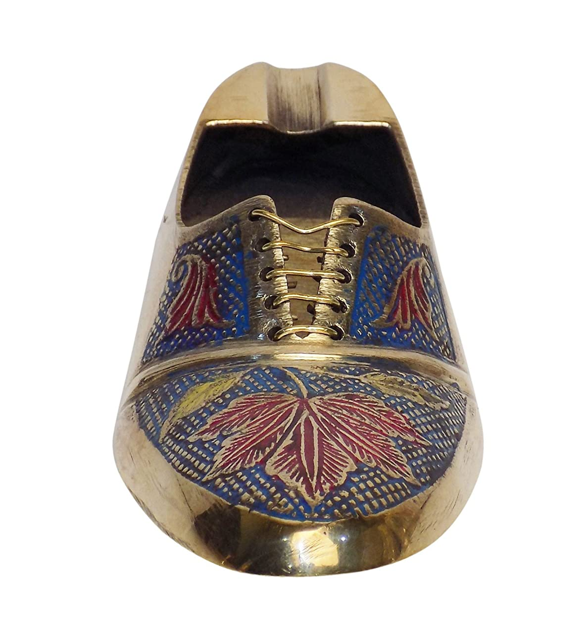 DIWALI OFFER Crafts'man ASHTRAY/PAPER WEIGHT Vintage Style Antique Looking Shoe Shape Paper weight 2