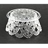 3.5 Inch Clear Plastic Ornament Base For Cake Topper Base & Favors 12 Pieces (Color: Clear)