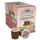 Grove Square Cappuccino, Hazelnut, 24 Single Serve Cups (Color: Brown, Tamaño: 24 Count)