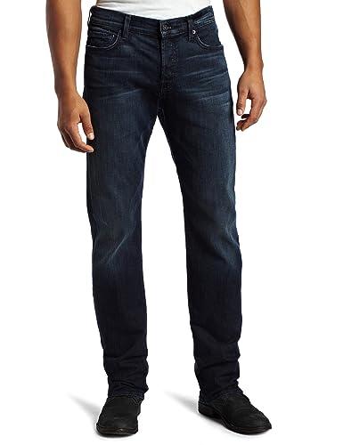 海淘7牛仔裤:7 For All Mankind 男士修身直筒牛仔裤