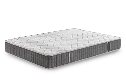 Più Relax viscoaloetex–Materasso in Memory Foam, 190x 135x 24cm, colore: bianco