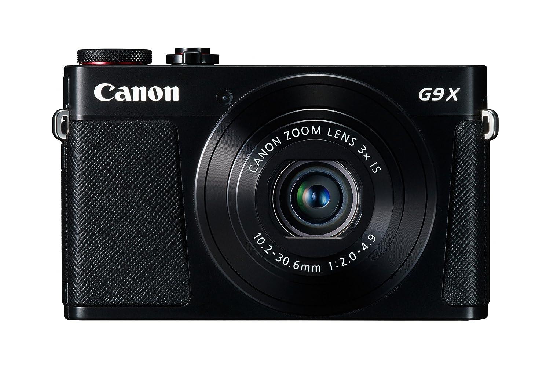 Canon PowerShot G9 X Digital Camera w/ 20.2 MP 1.0 Inch Sensor & Wi-Fi Enabled (Black)