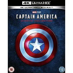 Captain America Trilogy [4K Ultra HD + Blu-ray]