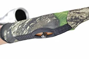 Beartooth GunJacket - Premium Neoprene Gun Cover for Rifles in Mossy Oak Break-up - Made in USA (Color: Mossy Oak Break-up)