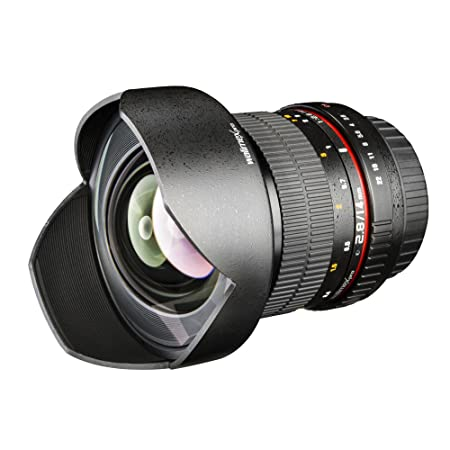 Walimex Pro Objectif Fish-Eye II 8 mm f/3,5 pour Micro Four Thirds