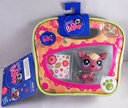Littlest Pet Shop - #1895 kangourou avec sac (KANGAROO)