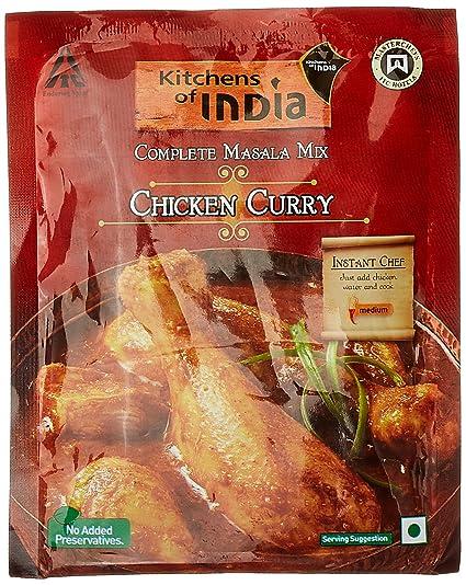 KITCHENS OF INDIA HYDERABADI CHICKEN BIRYANI MASALA MIX 80G price