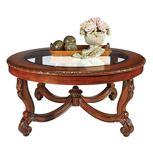 Design Toscano Coffee Table, White