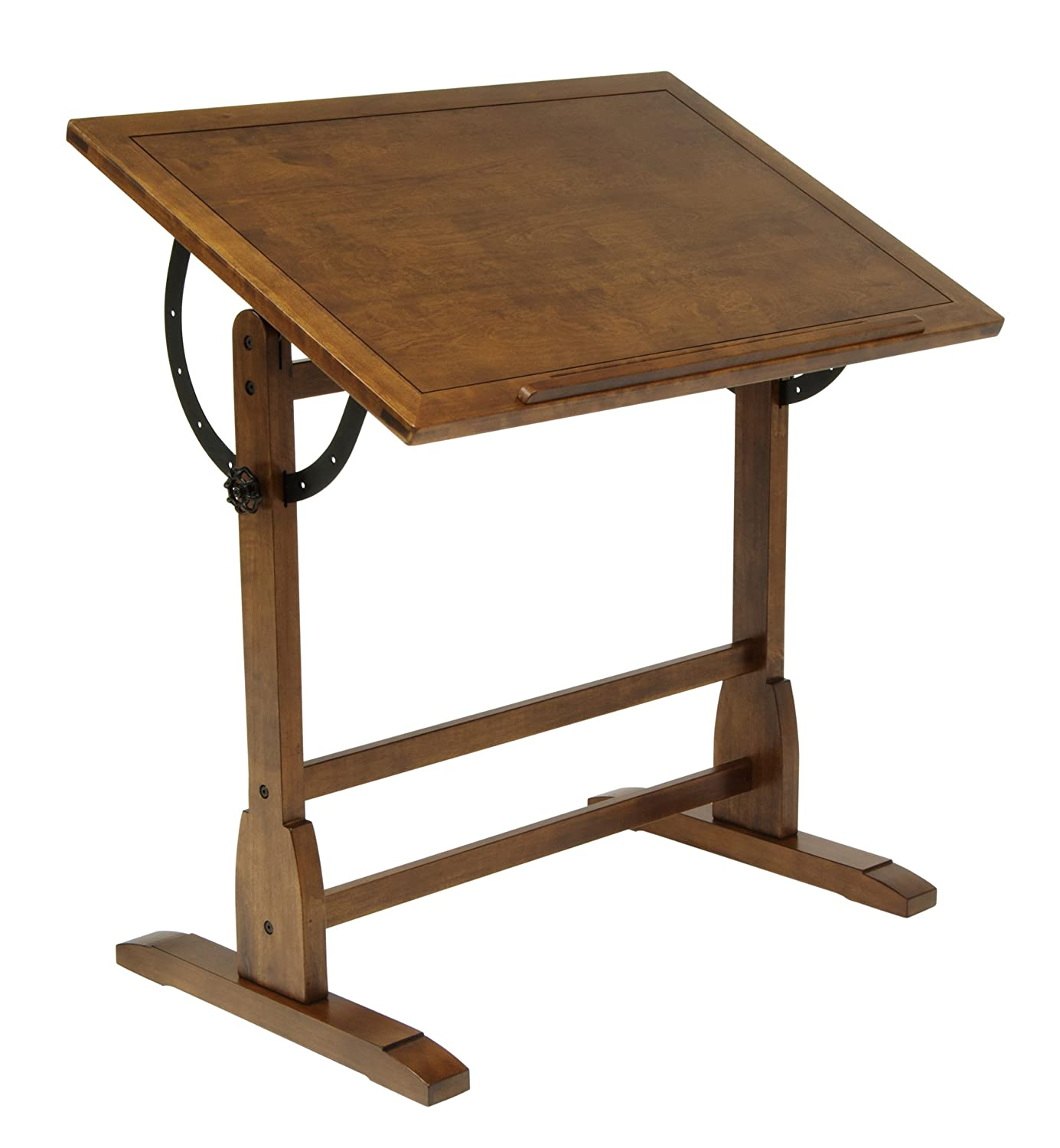New Vintage Drafting Table Oak Wood Art Crafts Architects Design Drawing Studio Ebay