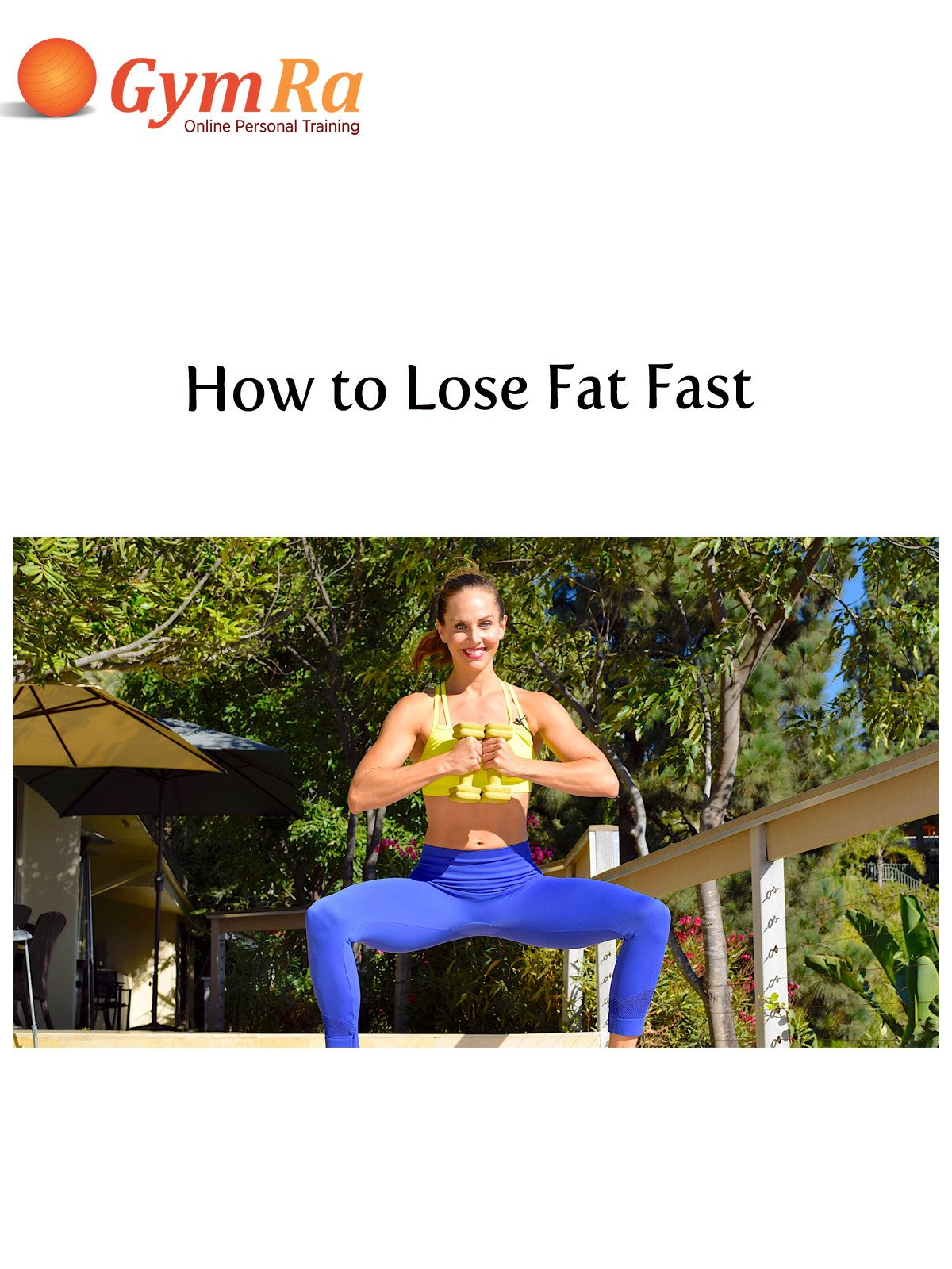 How to Lose Fat Fast on Amazon Prime Instant Video UK