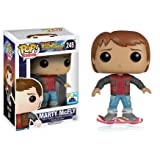Funko Pop Movies Back To The Future 2 Marty McFly On Hoverboard Exclusive Vinyl Figure
