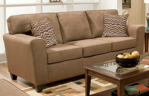 Chelsea Home Furniture Zola Sofa, Luminaire Kahlua
