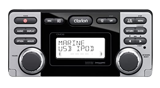 Clarion CMD8 Marine CD USB MP3 Receiver