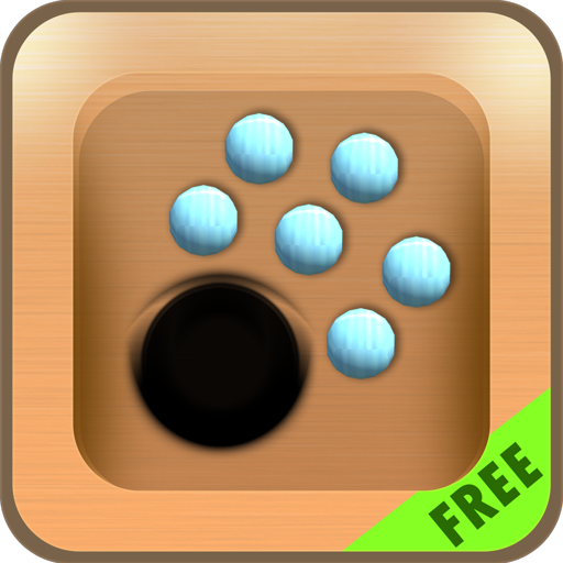 Roll and Drop Balls - Put Balls Into the Holes