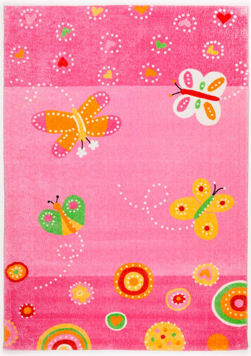 Kinderteppich Mamba in Rosa Teppichgröße: 170 x 240 cm jetzt kaufen