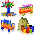 QuadPro Brain Flakes 570 Piece w/4 Set Wheels Building Blocks Set