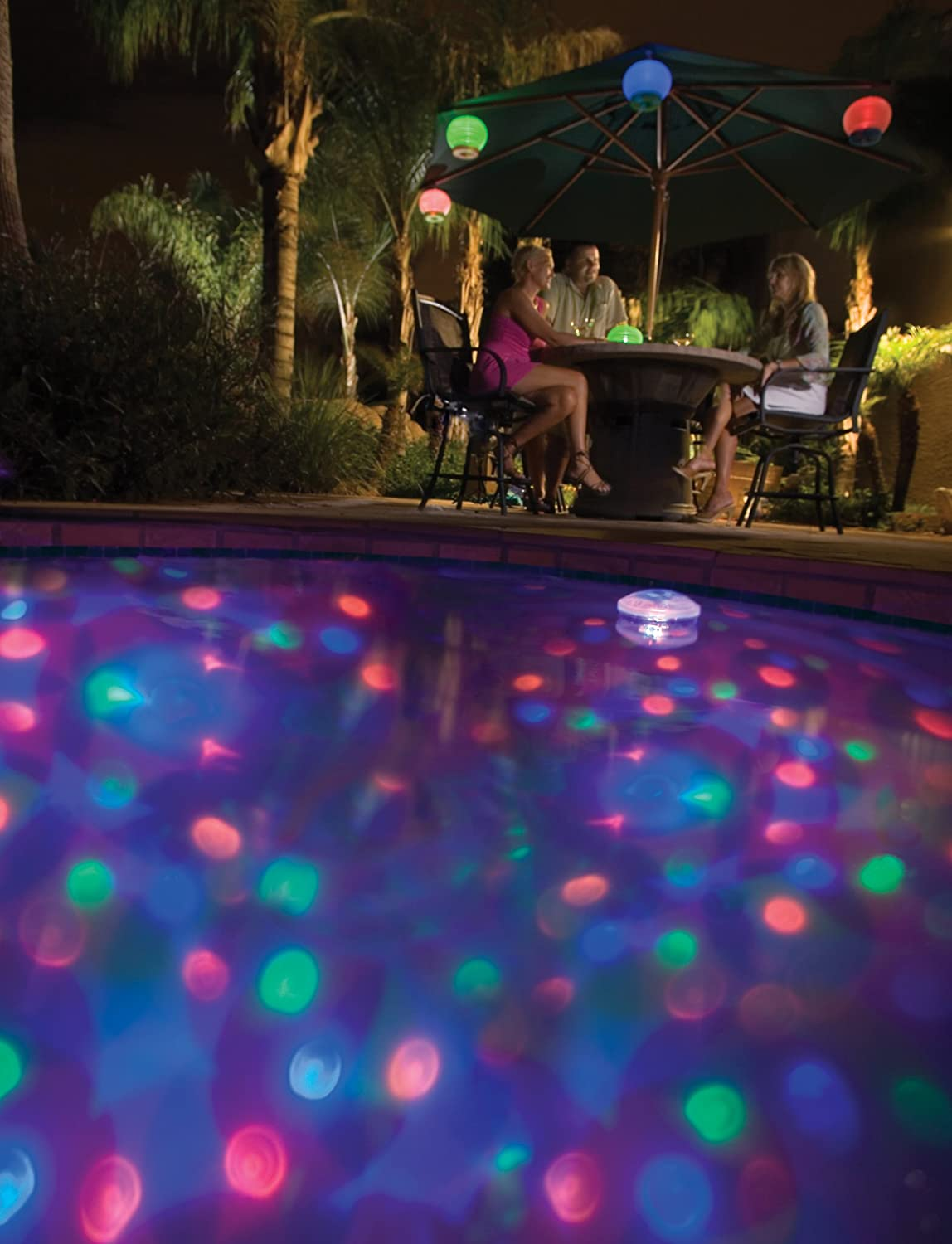 New underwater light show pool lighting multicolor color for Pool light show waikiki