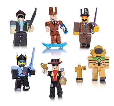 ROBLOX Légendes de ROBLOX 6 Six Paquet De Figurines avec exclusif virtuel objets