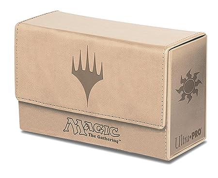 Ultra Pro - 330767 - Jeu De Cartes - Deckbox - Dual Flip Box - Blanc - C6