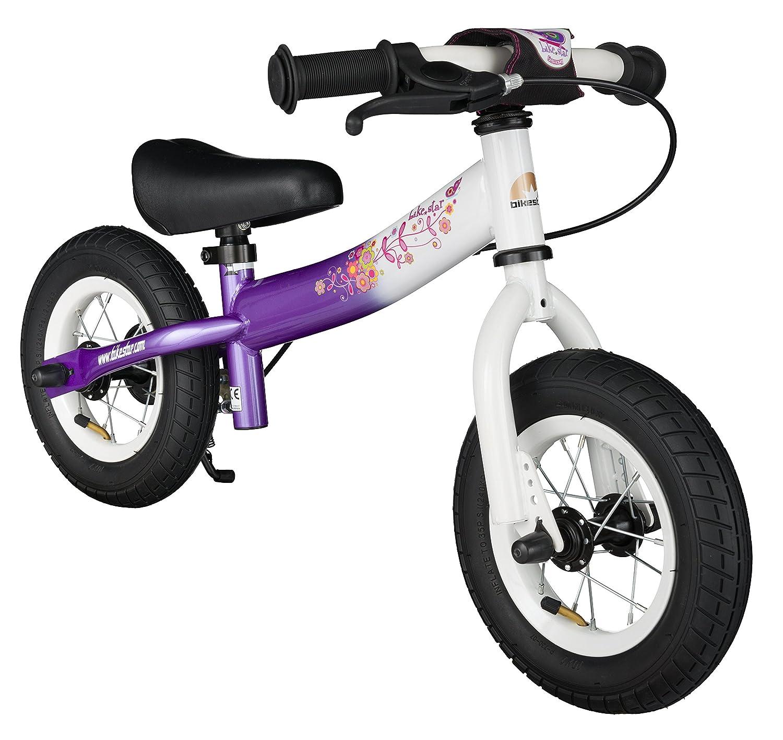 BIKESTAR® Premium Sicherheits-Kinderlaufrad für kleine Abenteurer ab 2 Jahren ★ 10er Sport Edition ★ Candy Lila & Diamant Weiß günstig online kaufen