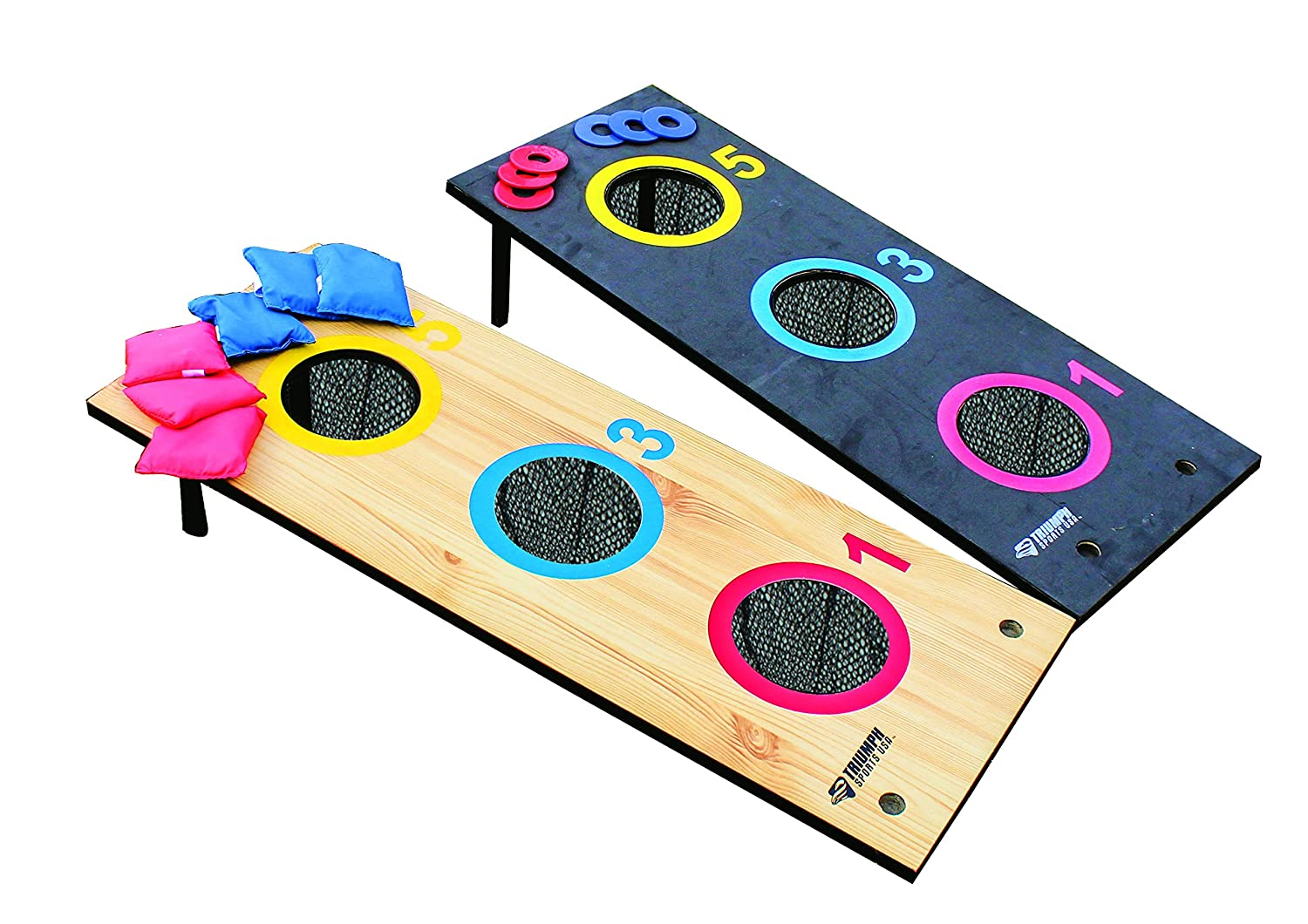 Escalade Sports 2-in-1 3 Hole Bags and Washer Toss Combo