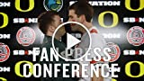 What happens when Oregon & OSU fans come together