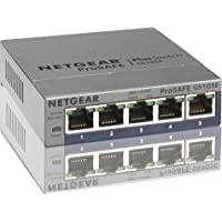 Netgear ProSAFE Plus 5-Port Gigabit Web Managed Switch (GS105E)
