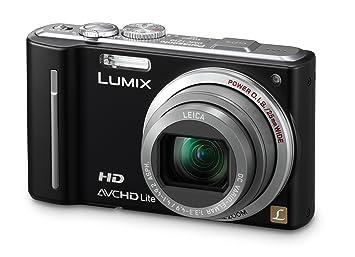 Panasonic LUMIX DMC-TZ10 EG-K Appareil photo numérique 12 MP Zoom optique 12x Ecran 7,6 cm Stabilisateur d'images Noir (Import Allemagne)