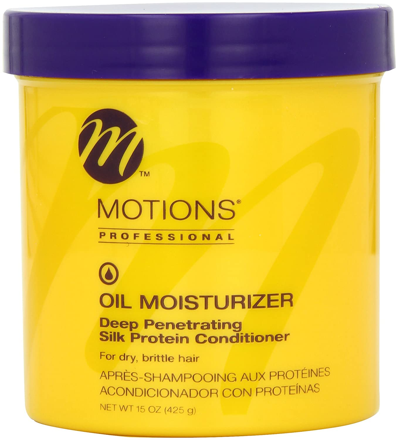 Motions Oil Moisturizer Silk Protein, for dry brittle hair 15 oz.