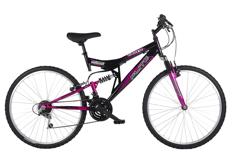 Bicicleta de montaña para mujer con doble suspensión