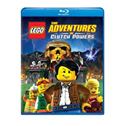 Lego: The Adventures of Clutch Powers [Blu-ray]