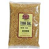 Spicy World Toor Dal (Split Pigeon Pea) 4 Pound Bag (Tamaño: 64 Ounces)